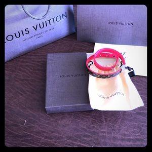 Louis Vuitton wrap around bracelet. Never worn.